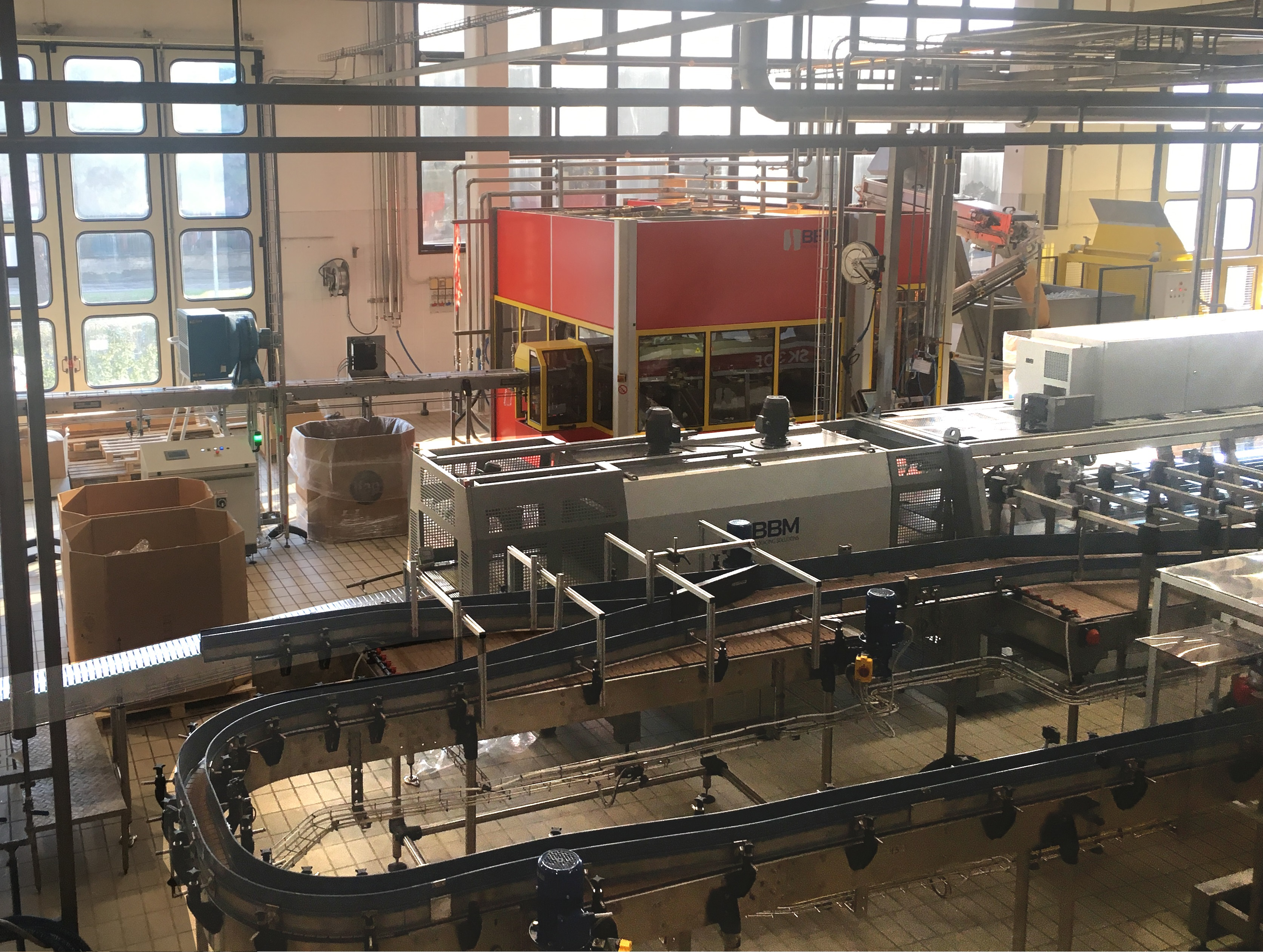 Turnkey solutions for bottling and packaging by bbm